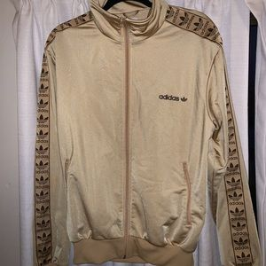 LIMITED EDITION Gold Adidas Jacket. Unisex!